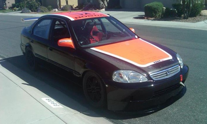 1997 Honda Civic race car